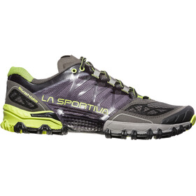 La Sportiva M's Bushido Shoes Carbon/Apple Green